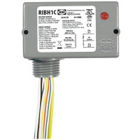 RIBH1C - Functional Devices Enclosed Relay 10Amp SPDT 10-30Vac/dc/208-277Vac