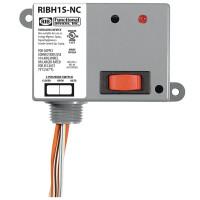 RIBH1S-NC - Relay,15Amp, SPST-NC+Sw 10-30Vac/dc 208-277Vac