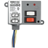 RIBH1SC - Relay,10 Amp SPDT + Sw,10-30vac/dc/208/277