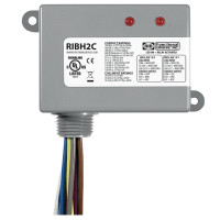 RIBH2C - Functional Devices Enclosed Relays 10Amp 2 SPDT 10-30Vac/dc/208-277Vac