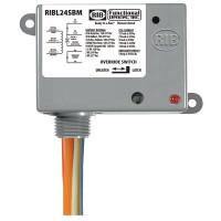 RIBL24SBM - Enc Relay Latch 20Amp 24Vac w/ Switch + Aux Contac