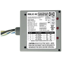 RIBL3C-NC - Relay,10 Amp, 3 SPST-NC,10-30vac/dc