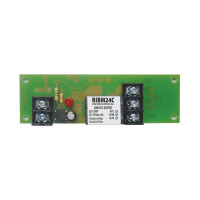 RIBM24C - Functional Devices Panel Relay 4.00x1.25in 15Amp SPDT 24Vac/dc