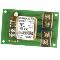 RIBM24ZL-NC - Relay,30Amp, Track Mnt, DPST- NO. 24Vac/dc