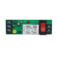 RIBMH1S - Relay,15 Amp, Panel Mnt, SPST+NO+Sw,10-30 Vac/dc