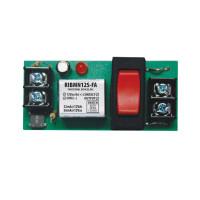 RIBMN12S-FA - Relay,15Amp,Panel Mnt, SPST+Sw, 12Vac/dc
