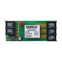 RIBMN24C - Functional Devices Panel Relay 2.75x1.10in 15Amp SPDT 24Vac/dc