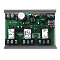 RIBMN24Q3C - Functional Devices Panel I/O Expander 2.75in 15Amp 3-SPDT 24Vac/dc power, 0-5Vdc Control w/ MT212-4
