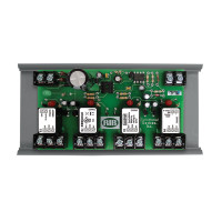 RIBMN24Q4C - Functional Devices Panel I/O Expander 2.75in 15Amp 4-SPDT 24Vac/dc power, 0-5Vdc Control w/ MT212-6