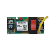 RIBMN24S-J - Functional Devices Panel Relay 2.75x1.25in 15Amp SPST + Jumper Selectable Override 24Vac/dc