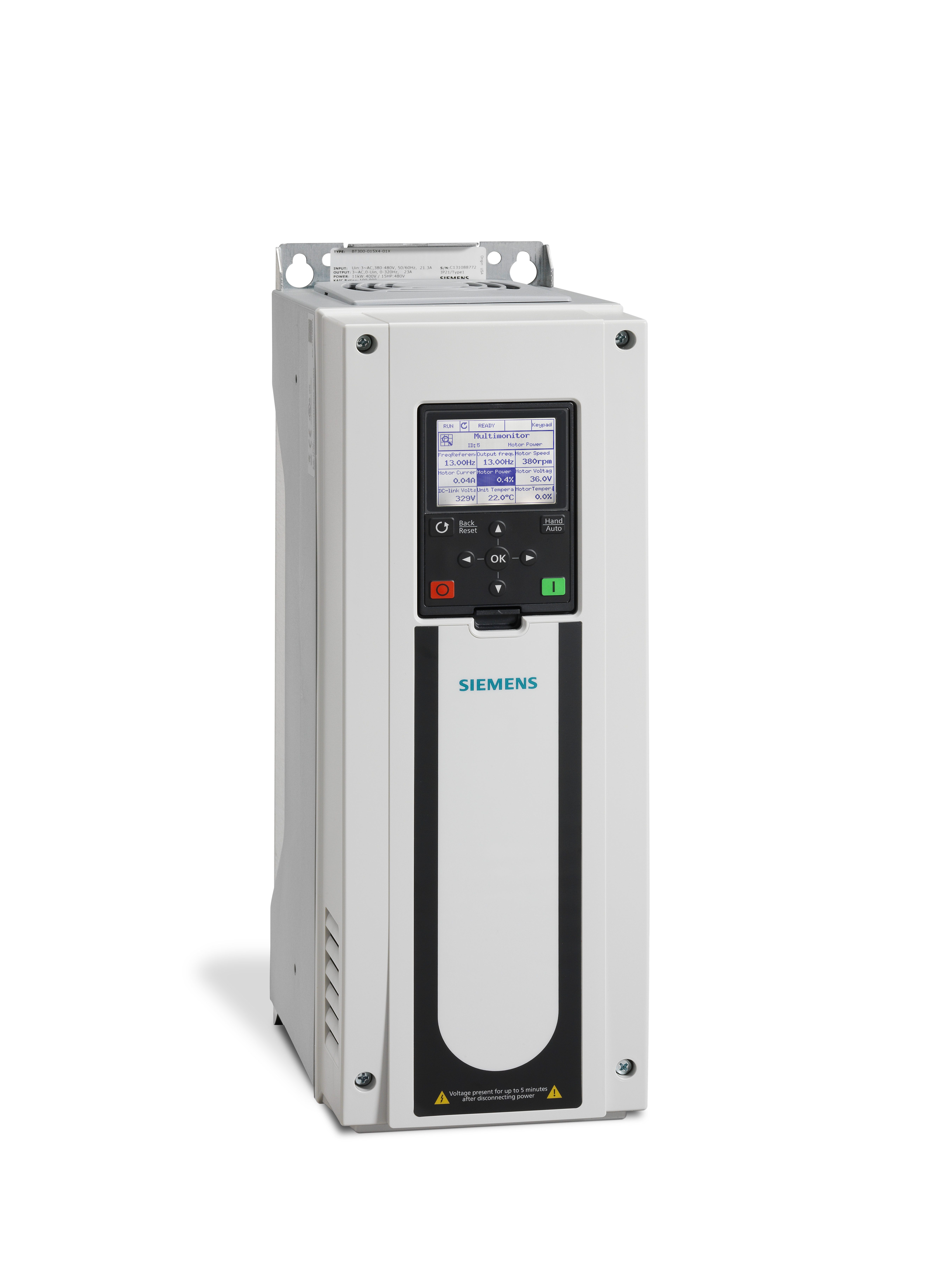 Bt300 001x2 12d Siemens Variable Frequency Drives