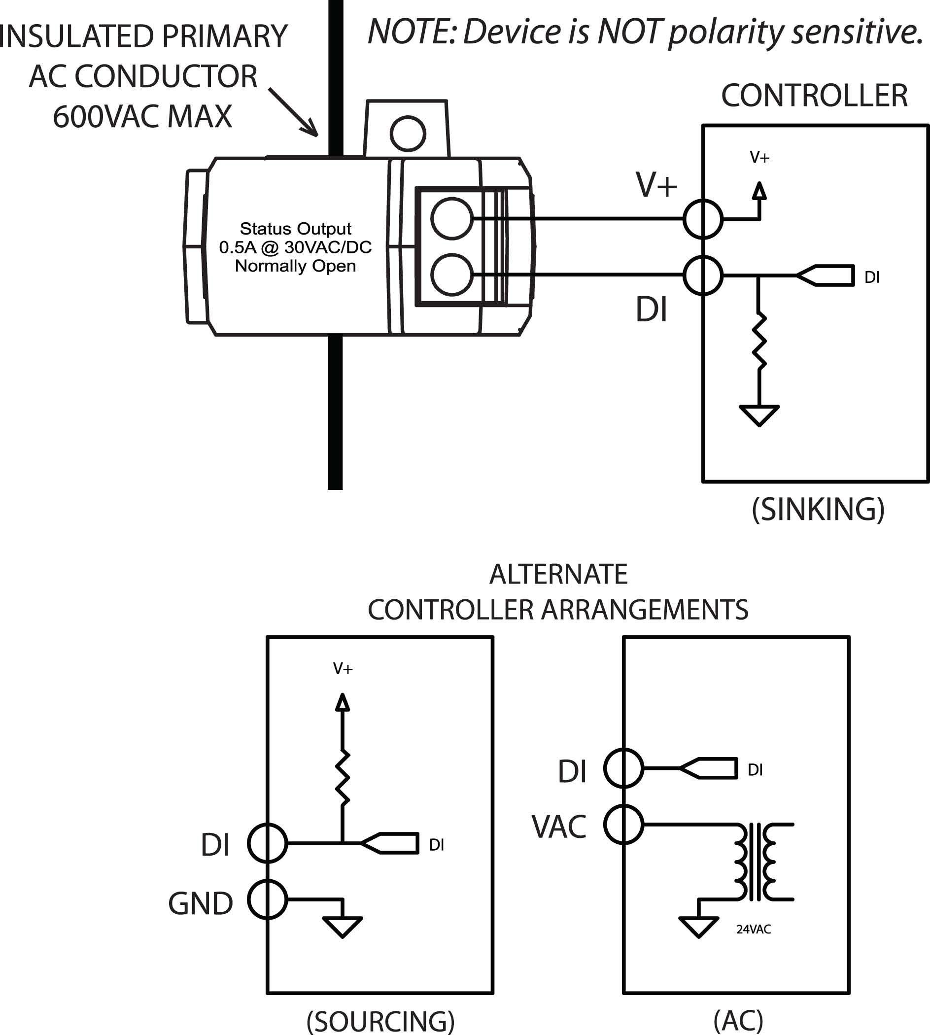 Senva Sensors Analog Current Sensors C-1203 Transducer ...