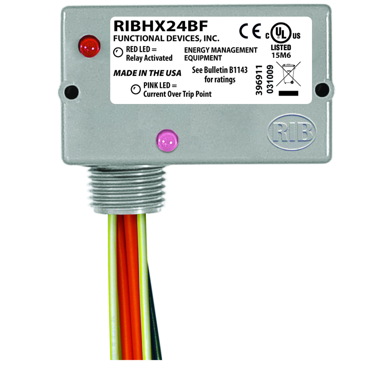 Ribhx24bf Rib Relays Functional Devices Cci