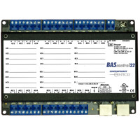 BASC-22R - Contemporary Controls Sedona Field Controller With 22 I/O Port Points