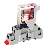 CKIT-VMD3B-C24A - Veris Industries 3PDT Relay and Socket Kit, 10A, 24VDC Coil, 20 ms Operating Time