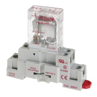 CKIT-VMD1B-C120A - Veris Industries SPDT Relay and Socket Kit, 15A, 120VDC Coil, 20 ms Operating Time