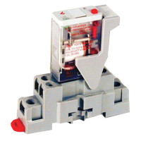 CKIT-VMD1B-F120A - Veris Industries SPDT Relay and Socket Kit, 15A, 120VDC Coil, 20 ms Operating Time