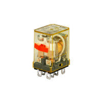 RH2B-ULCAC120V - IDEC Plug-in Relay DPDT 10A 120VAC Coil with LED & Check Button