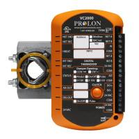 PL-VC2000 - ProLon VAV/Zone Controller w/Actuator No Flow Sensor 1AI, 1DO, 1AO