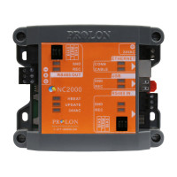 PL-NC2000 - ProLon Modbus TCP/IP to RS485 Network Controller