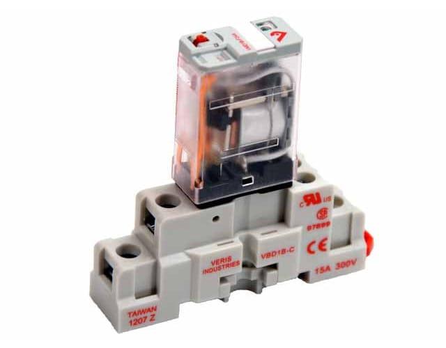 Veris Industries VMD3B-F Series CKIT-VMD3B-F24A Relay and Socket Kit
