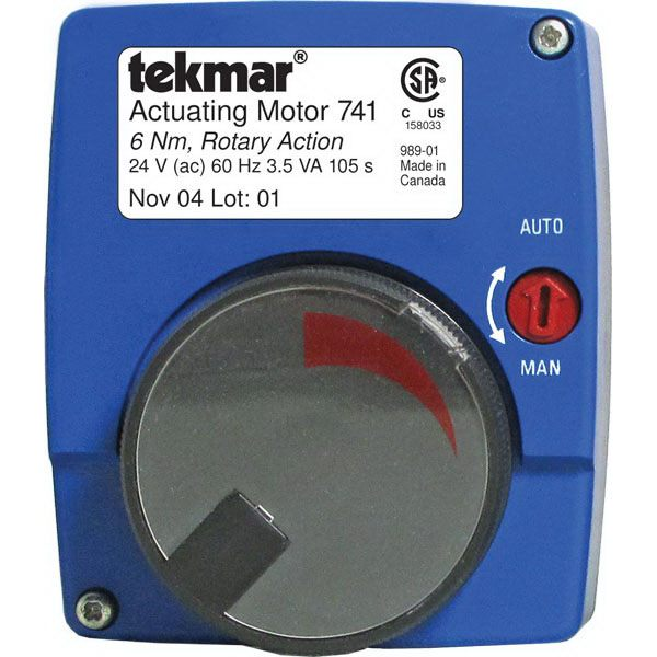 Tekmar Control Systems  741 Actuating Motor