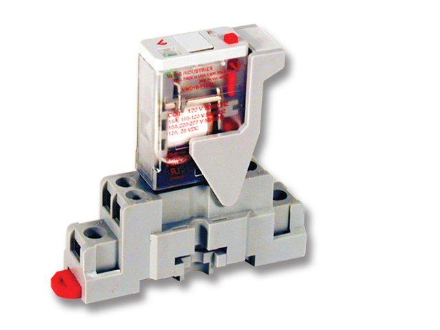 FKIT-VMD1B-F24A - Veris Relay & Socket Kit,SPDT -F w/-F Socket,24VAC