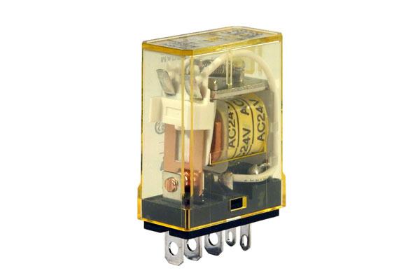 RH1B-UAC24V - IDEC Plug-in Relay SPDT 10A 24VAC Coil