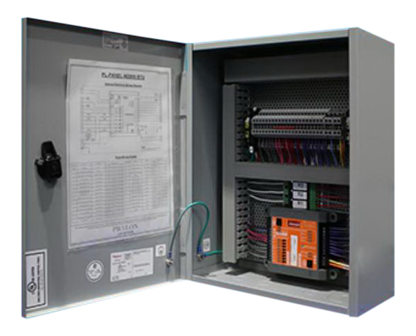 PL-PANEL-M2000-RTU - ProLon Advanced Zoning Rooftop Controller in a Prewired Panel 5DO, 3AO, 2DI, 7AI