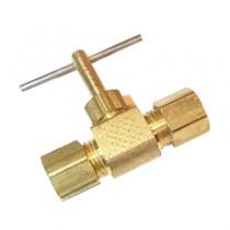 """C-151 - Schneider Electric Compression Line Valve, Brass, 1/4"""""""