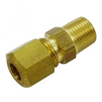 "C-133 - Schneider Electric Compression Adapter, Brass, 1/4"" x 1/8"" MPT"