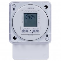 FM1D20A-240 - Intermatic Time Switch, 240VAC, 4VA, SPDT, 20 Programs, Surface/DIN Rail Mounting