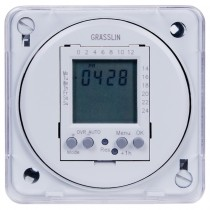 FM1D20E-120 - Intermatic Time Switch, 120VAC, 4VA, SPDT, 20 Programs, Flush Mounting
