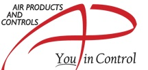 American Products and Controls (APC) logo