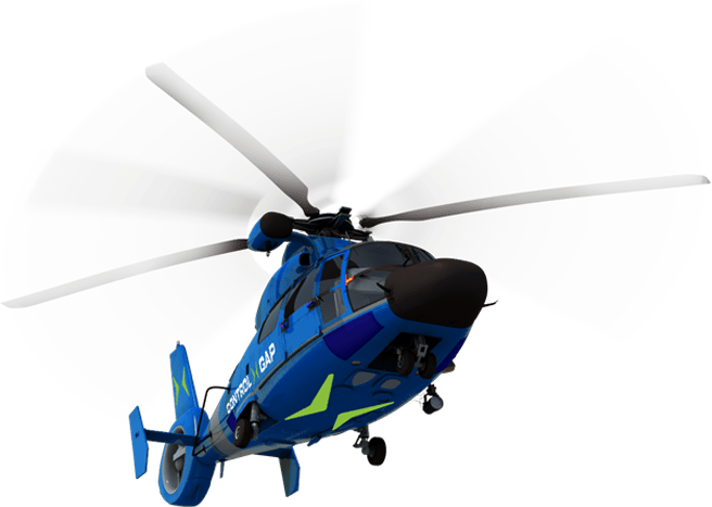 secure helicopter