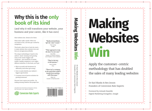 The design of our book cover