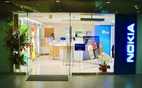 Japan's first Nokia Store
