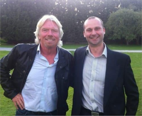 Top Cashback with Richard Branson