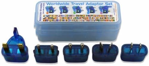 Mobal's travel adapters