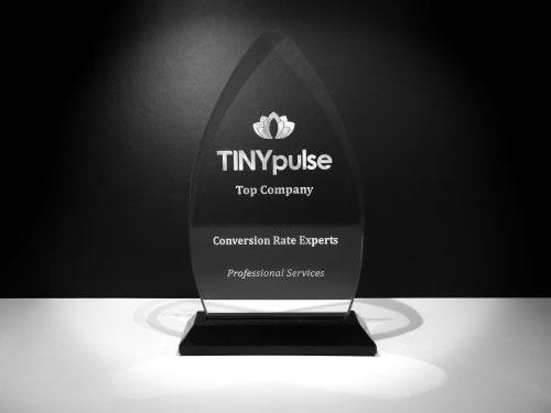 Our TINYpulse award