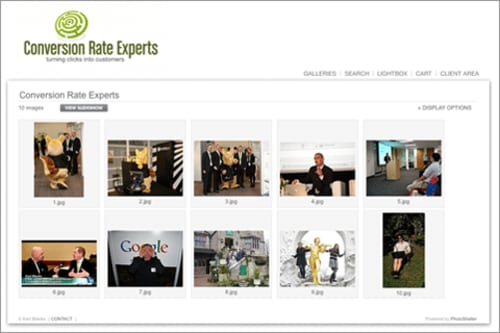 CRE's PhotoShelter Page