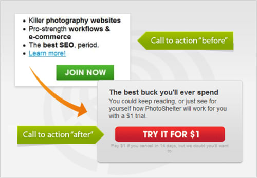 PhotoShelter Before/After