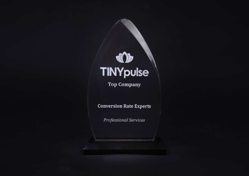 We are proud to have won a TINYpulse award for being a great company to work for.