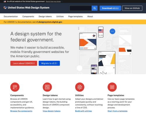 A design system for the federal government