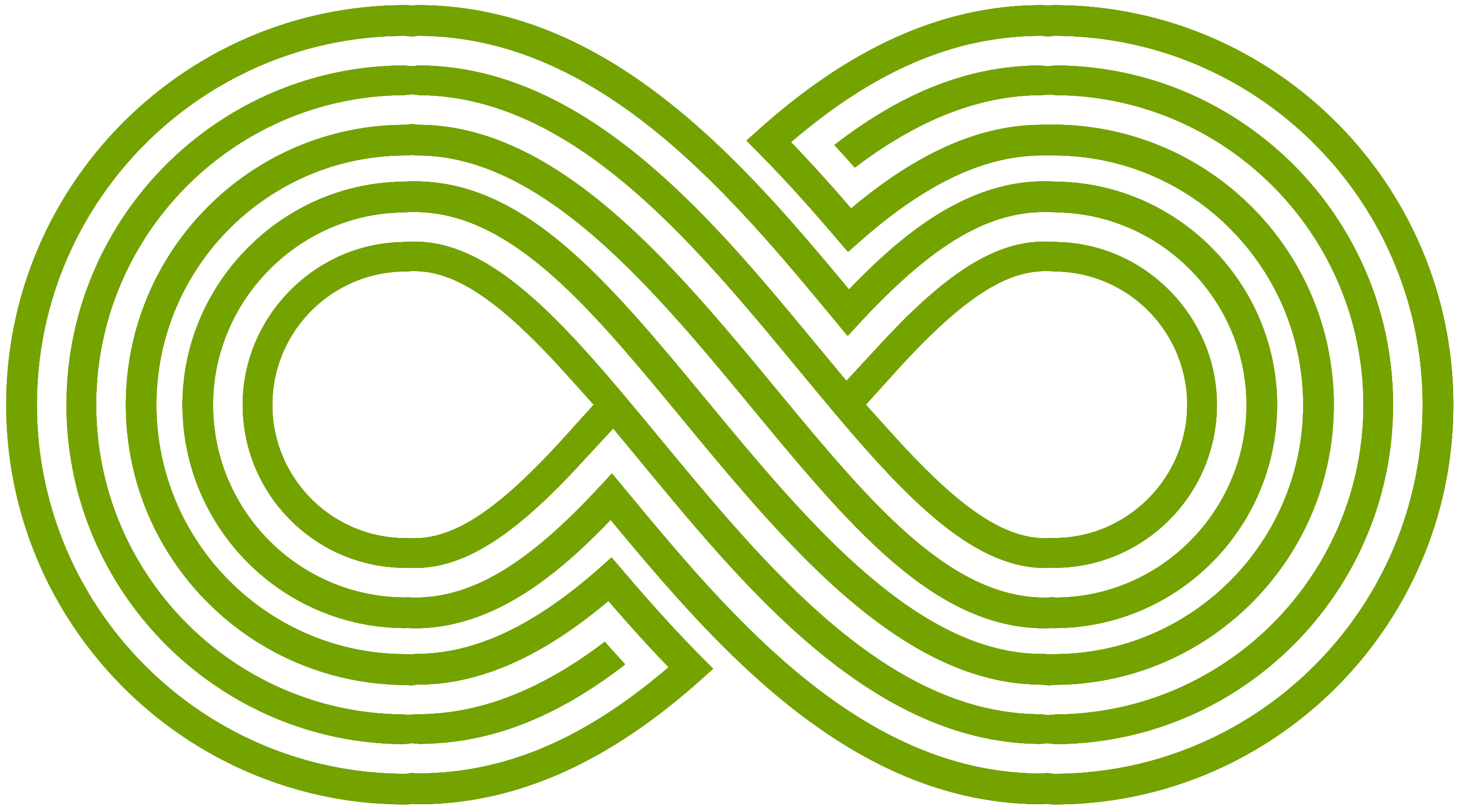 A weird hybrid of the CRE maze and the infinity sign
