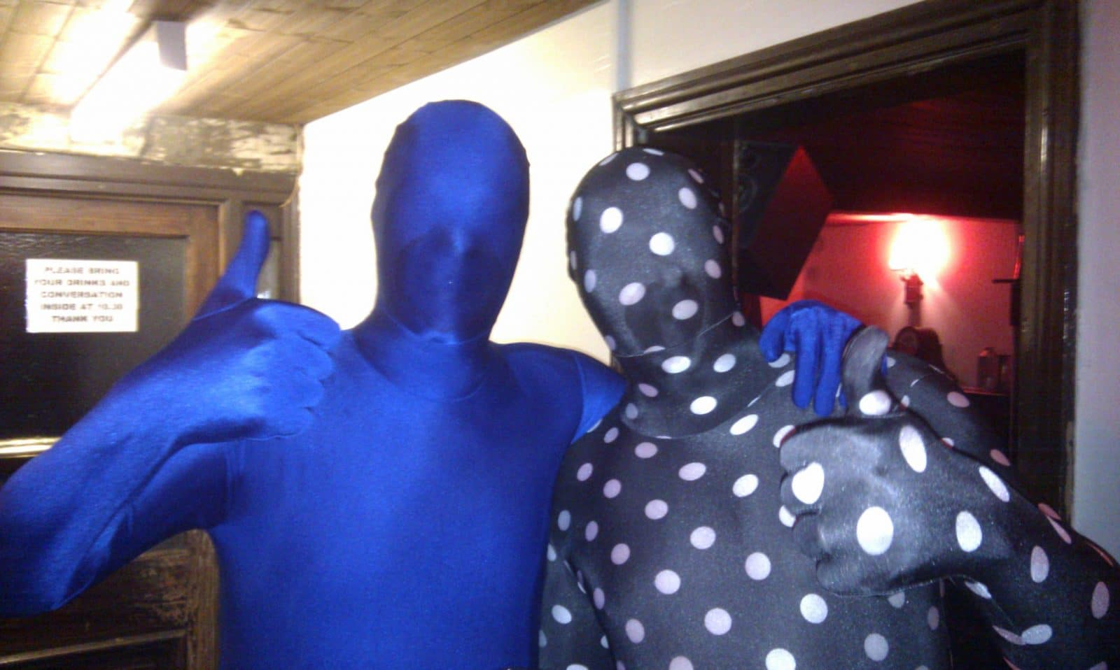Method marketing in Morphsuits
