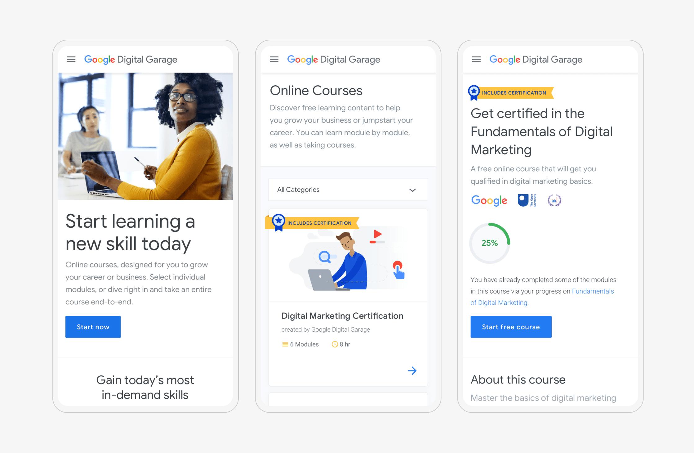 Screenshot of Beyonds Google case study