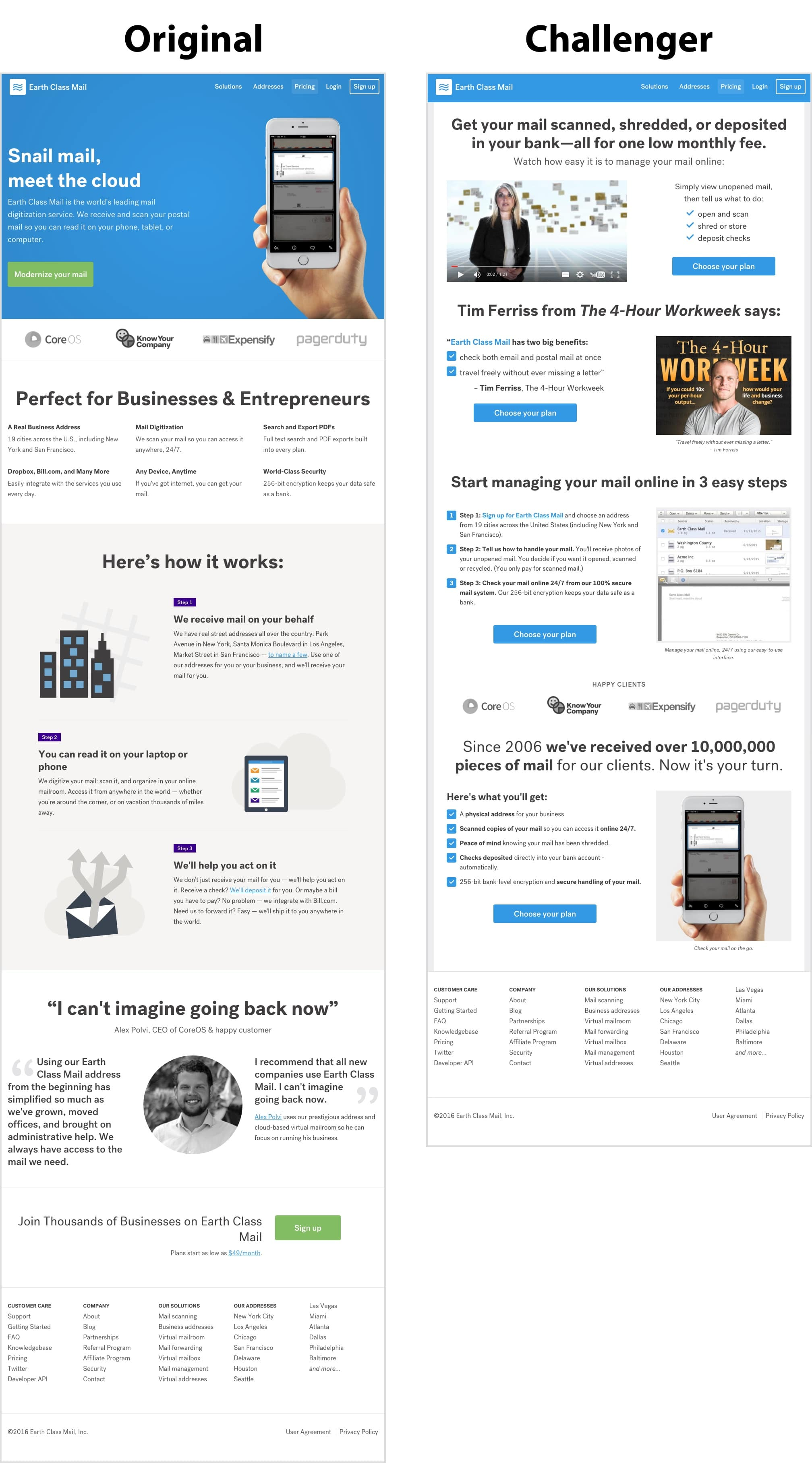 How we more-than-doubled the leads for a SaaS company (with images of the winning pages) | Conversion Rate Experts
