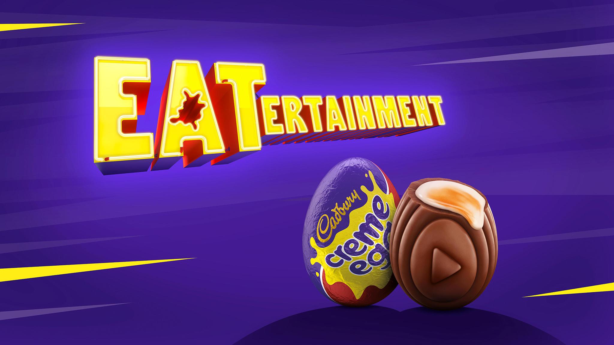 Screenshot from Elvis's Cadbury Creme Egg case study
