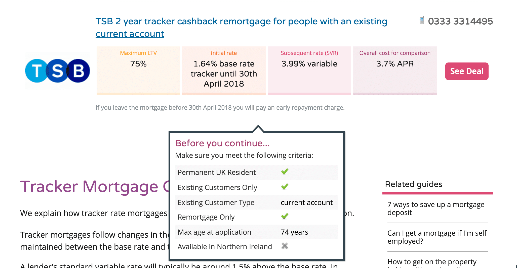 money.co.uk tooltip